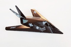 Buy Now: Metal US Air Force F-117 Stealth Fighter Jet Plane Toy