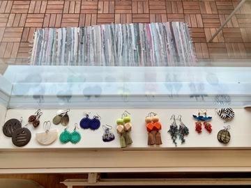 Myydään: Collection of earrings