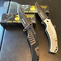 Buy Now: USMC lot of two assisted opening tactical knives