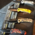Buy Now: Lot of 4 Tac-Force Assisted opening camp pattern knives