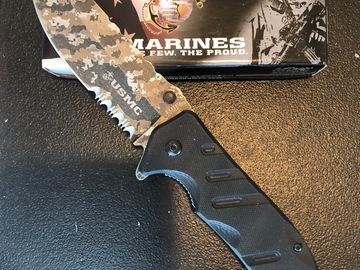 Buy Now: USMC MTECH USA assisted opening ballistic pocket knife