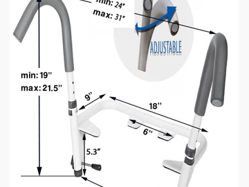 SALE: Ultimate Toilet Safety Frame | Free Delivery in Scarborough