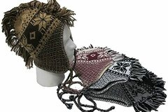 Buy Now: Mohawk Style EarFlap Winter Hat, Knit With Soft Warm Lining,