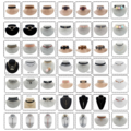 Buy Now: 9960 units of choker/necklace Liquidation. 830 Dozens. $0.10 Each