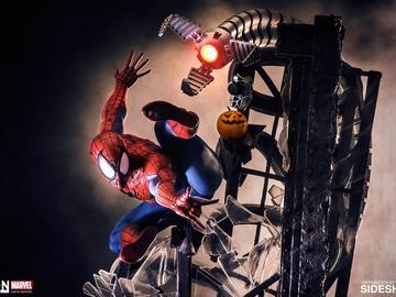 Stores: Iron Studios Spider-Man 1/4 Scale Legacy Diorama