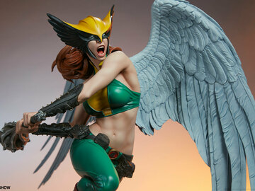 Stores: Sideshow Dc Comics Hawkgirl Premium Format 56cm