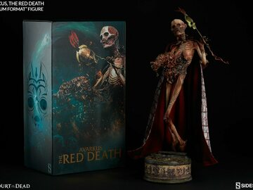 Stores: Sideshow Court Of The Death The Red Death Premium Format
