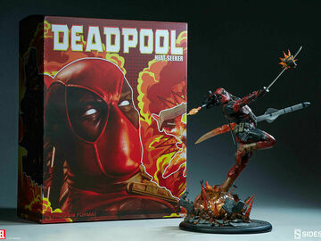 Stores: Sideshow Deadpool Heat Seeker Premium Format Statue