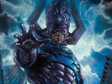 Stores: Sideshow Marvel Galactus Unframed Art Print