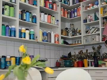 Workshop Angebot (Stundenbasis):  Faszination freies und experimentelles Malen