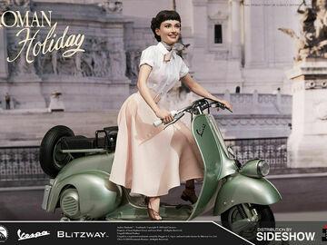 Stores: Blitzway Roman Holiday: Princess Ann And 1951 Vespa 125
