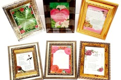 Buy Now: Decorative Assorted Inspiration Framed Messages