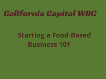 Announcement: Starting a Food-Based Business 101
