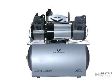 Gebruikte apparatuur: Dürr Trio Compressor 220V met membraamdroger