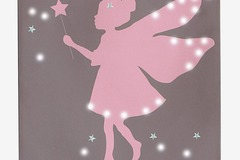 Buy Now: Bulk Lot Price! – Fairy Light-Up Canvas Art With 27 LED Lights-