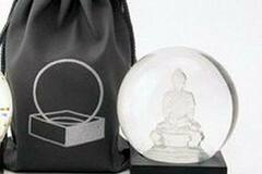 Buy Now: Buddha To Go Miniature Cool Snow Globe By CoolSnowGlobes –Crystal
