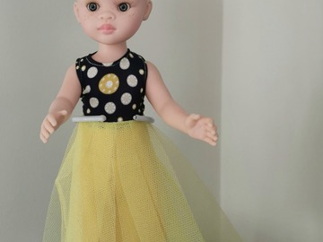 For Sale: Albino doll with yellow outfit