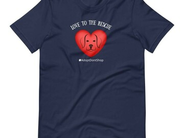 Selling: Love to the Rescue T-Shirt