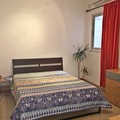 Rooms for rent: Private bedroom with a balcony