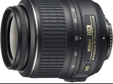 Myydään: Nikon Camera Lens