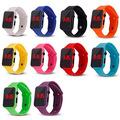 Liquidation/Wholesale Lot: 20 Pack Unisex Teen Led Silicone Wrist Watches