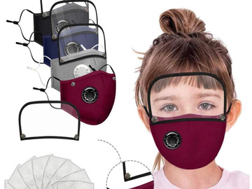 Compra Ahora: 4 Masks and Shields with 8 Filters for Kids