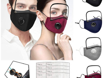 Compra Ahora: 4 Masks and Shields with 8 Filters for Adults