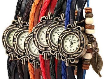 Compra Ahora: 18 Vintage Wrap Around  Watches