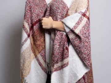 Buy Now: 24 Women's Drape Ponchos