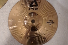 "Selling with online payment: Paiste Alpha 8"" Thin Splash Cymbal"