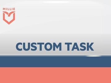 Service: Custom Tasks