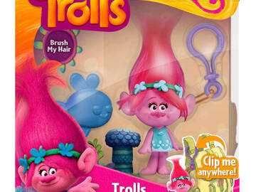 Buy Now: Dreamworks – Trolls Medium Key Chain Toy, Princess Poppy