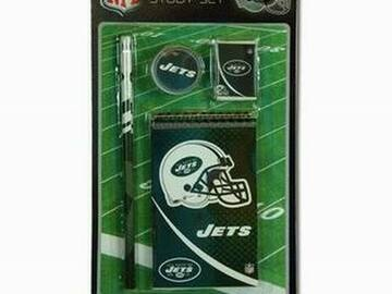 Buy Now: NFL New York Jets 4pk Study Kit On Blister Card
