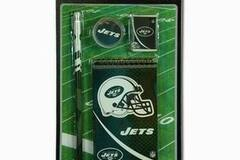 Liquidation/Wholesale Lot: NFL New York Jets 4pk Study Kit On Blister Card