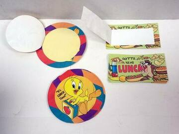 Buy Now: Pack Of 30 – Looney Tunes Lunch Notes Only 50 Cents/Pack