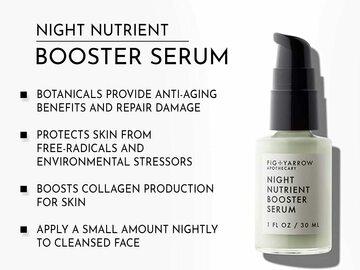 Buy Now: FIG+YARROW Apothecary Night Nutrient Booster Serum – 1 Fl. OZ.
