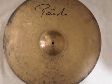 "Selling with online payment: Paiste Signature Dark Energy Mark I 20"" Ride Cymbal"