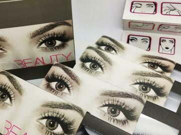 Buy Now: HUDA BEAUTY  Eye Lashes (40 Pairs of Mixed ..Thickness/Volume)