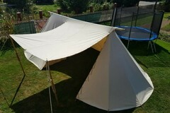 Sell: Merchant Tent 3 x 6 m - WOOL