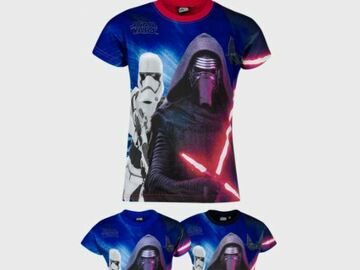Liquidation/Wholesale Lot: Star Wars Boys Printed Cotton T-Shirt (6y-12y - 360 pices