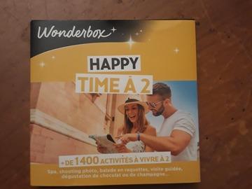 """Vente: Coffret Wonderbox """"Happy Time à 2"""" (25€)"""