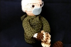 Selling with online payment: Bernie's Mittens Doll