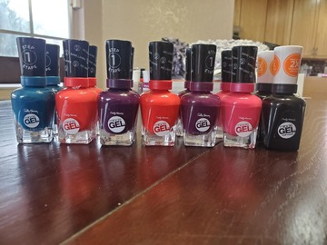 Liquidation/Wholesale Lot: Sally Hansen Miracle Gel Nail Polish