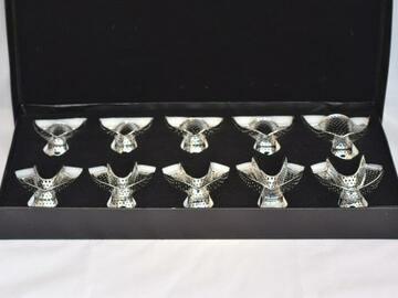 Gebruikte apparatuur: 10-delige Afdruklepel Set (€33) Nieuw in verpakking