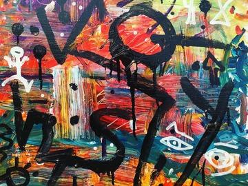 Sell Artworks: Jumping in lake mohavi