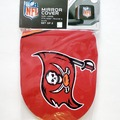 Liquidation/Wholesale Lot: LARGE – NFL Tampa Bay Buccaneers Game Day Car Mirror Covers