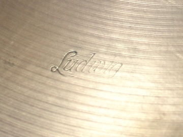 """Selling with online payment: 1920-30 LUDWIG 7"""" brass cymbal"""