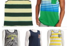 Liquidation/Wholesale Lot: 31 Men's tank tops with tags