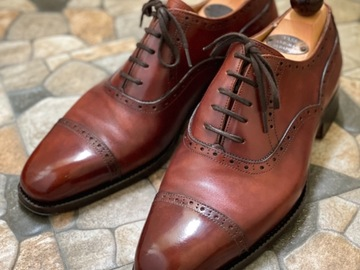 Selling with online payment: Vass Gold Museum Calf Oxfords