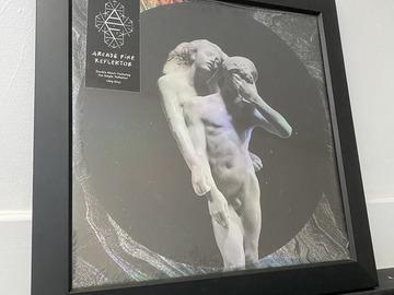 Vente: Cadre + vinyle Reflektor de Arcade Fire (Neuf)
